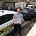 Jamie passed his driving test after driving lessons in Folkestone.