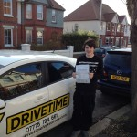 Passed driving test after driving lessons Folkestone