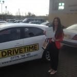 Driving lessons Folkestone Paulina Passed