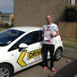 Nik passed his driving test!